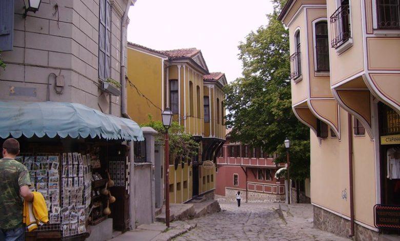 Уличка в стария град на Пловдив
