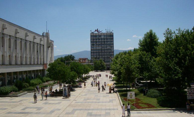 Центъра на Пловдив в снимка от миналото