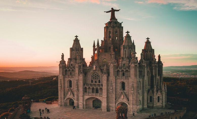 забележителна сграда в Испания, катедрала